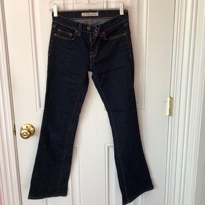 Boot leg jeans
